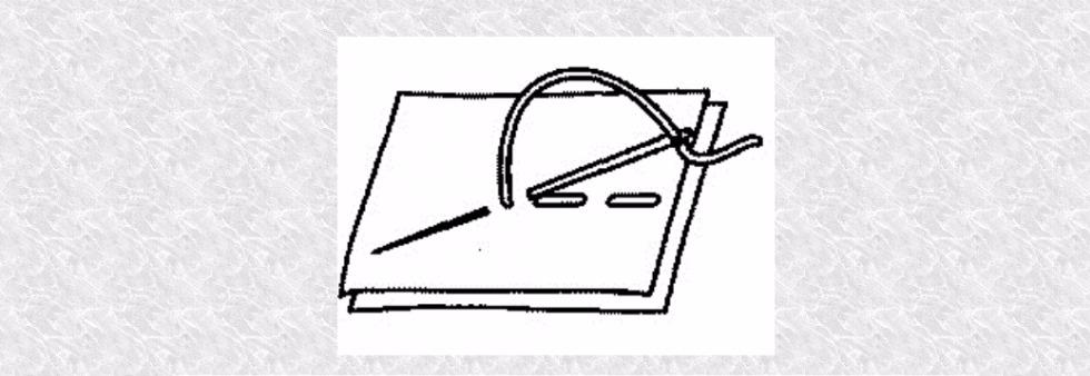 Презентация Ручные швы (5 класс)