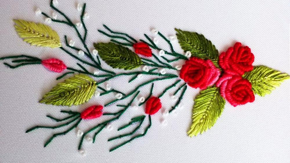 вышивка в стиле рококо мастер класс
