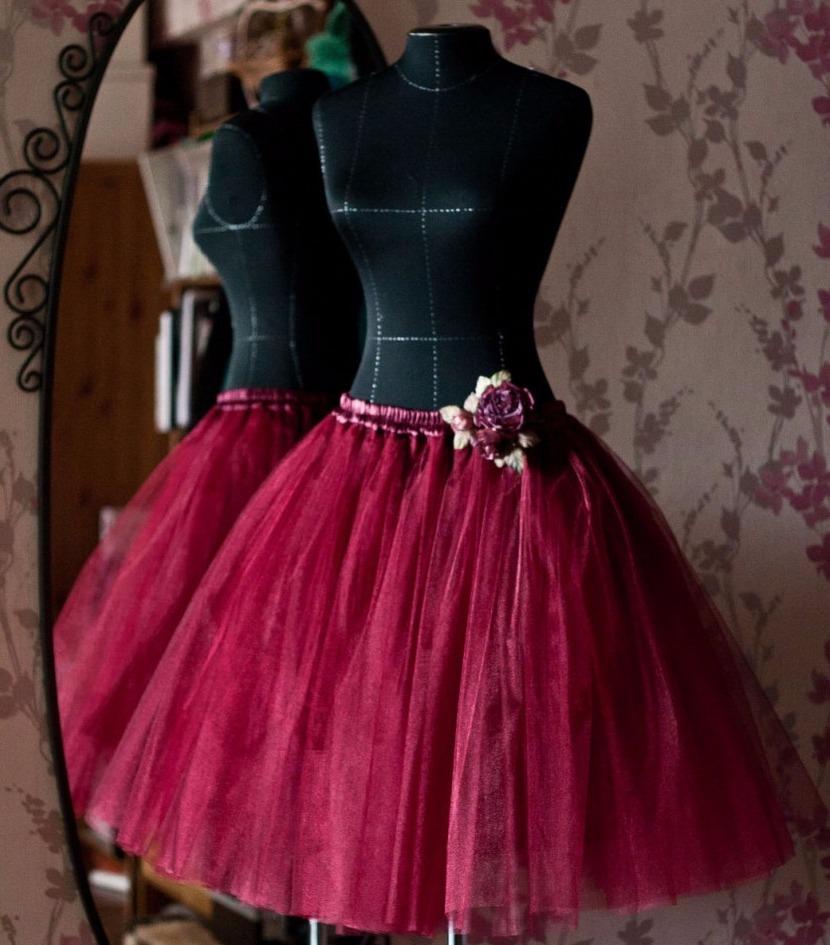 сшить юбку американку для девочки