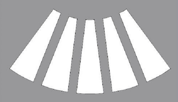 юбка колокол выкройка (главный ключ)