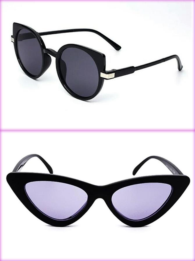 Кошачий глаз и бабочка очки