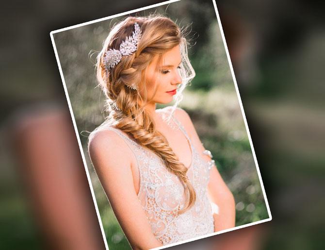 Роскошная коса с плетением
