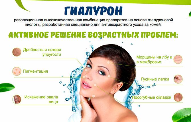Польза от гиалуроновой кислоты