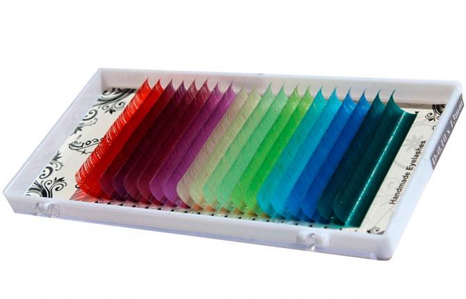 Цветные ресницы