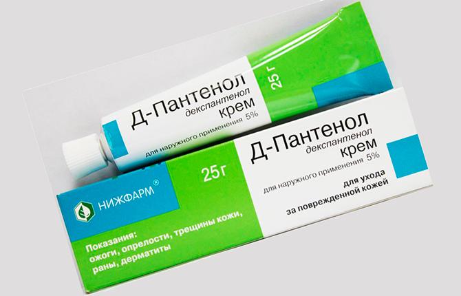 Пантенол крем после эпиляции